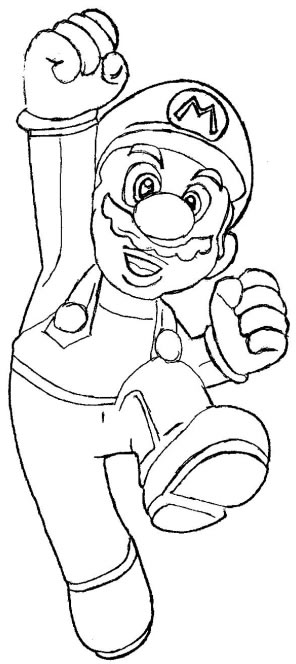 Desenho como desenhar super mario luigi e a princesa pintar e colorir