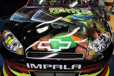 Turtle Power: Jeff Gordon teams up with Teenage Mutant Ninja Turtles