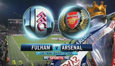 Keputusan Liga Perdana Inggeris (Premier League) 20 April 2013 - Fulham vs Arsenal