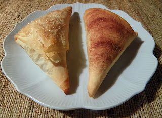Two Turnovers with Two Toppings