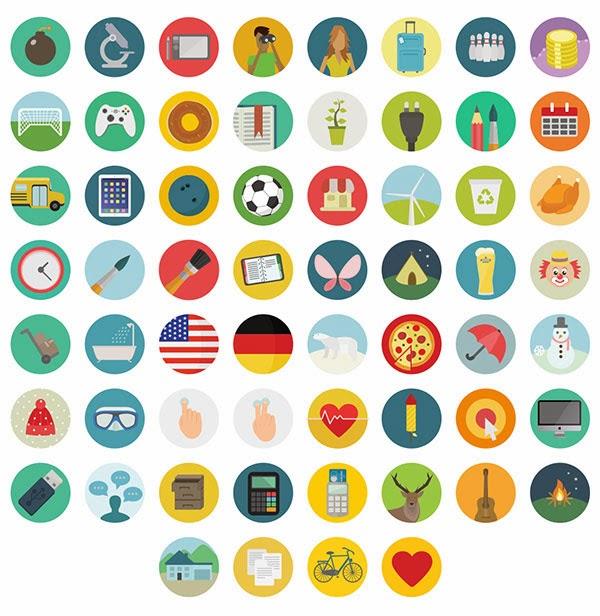 free flat icons, free icons,