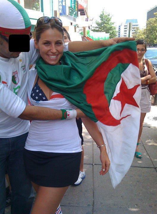 une algérienne aux usa
