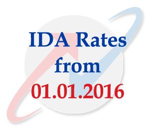 BSNL IDA from January 2016