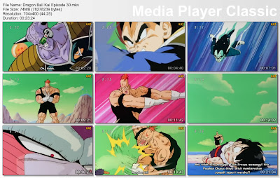"Download Film / Anime Dragon Ball Kai Episode 30 ""Kekejaman Recoom! Buatlah Aku Terhibur Vegeta"" Bahasa Indonesia"