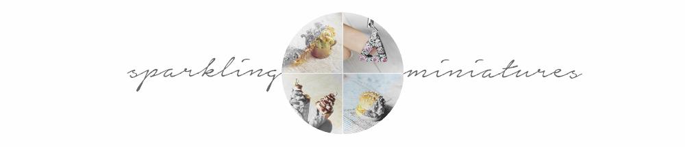 sparkling miniatures • biżuteria z modeliny