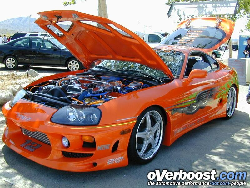 Not for the mass: Toyota Supra fast and furious