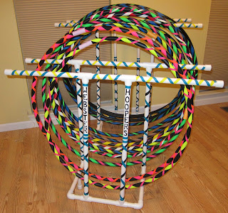 Hoop storage, PVC furniture, PVC