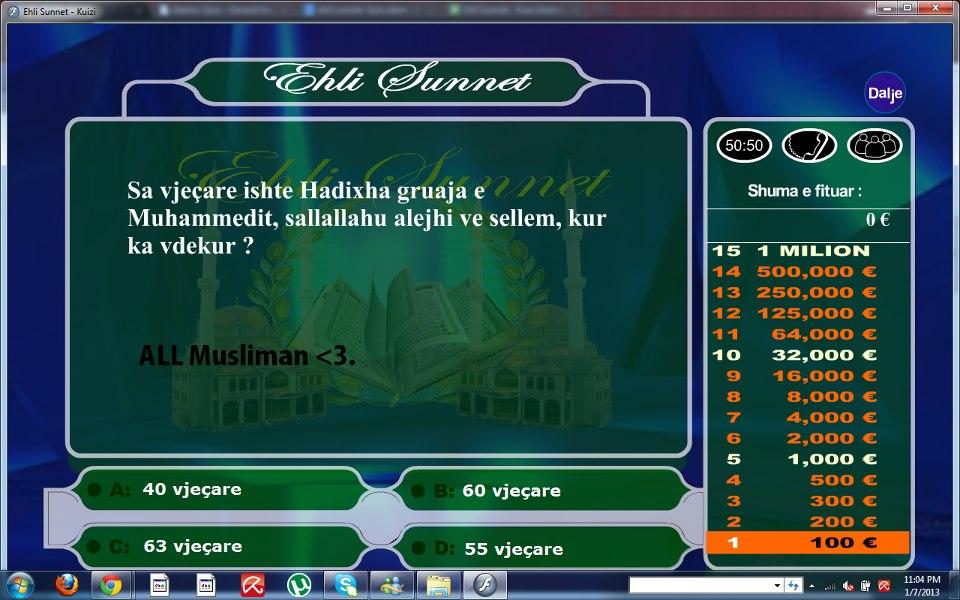 luaj lojen kuizi islam shqip loja quizi islam online luaj quici islam