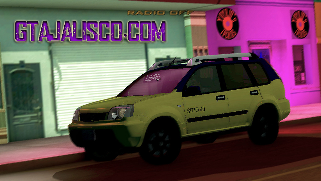 Nissan X Trail Taxi De Guadalajara V 3 Descargar Gta San Andreas