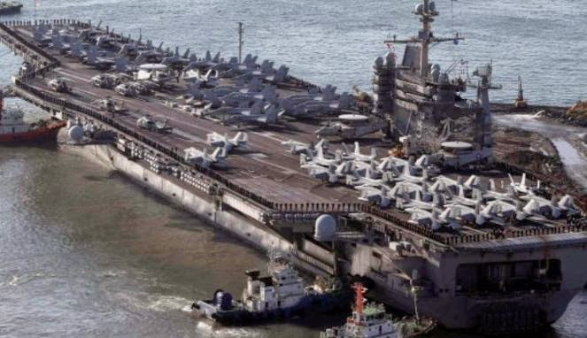 Kapal induk AS USS George Washington