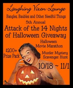5th Annual Attack Of The 14 Nights Of Halloween Giveaway 10/18 ~ 11/1