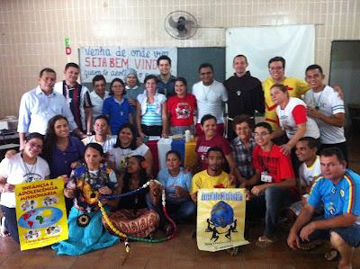 Encontro de coordenadores da JM e IAM do Ceará, Piauí e Maranh