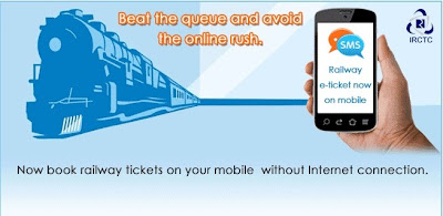 Mobile Booking on IRCTC