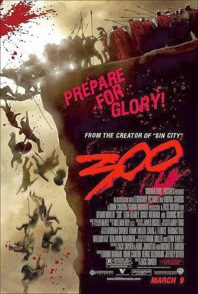 Poster 300 Acantilado