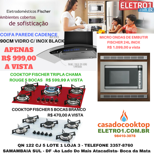 Casa do Cooktop