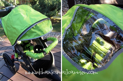 J is for Jeep stroller canopy