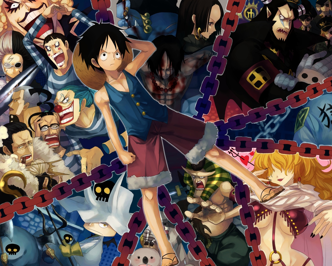 One Piece HD & Widescreen Wallpaper 0.179703568274721