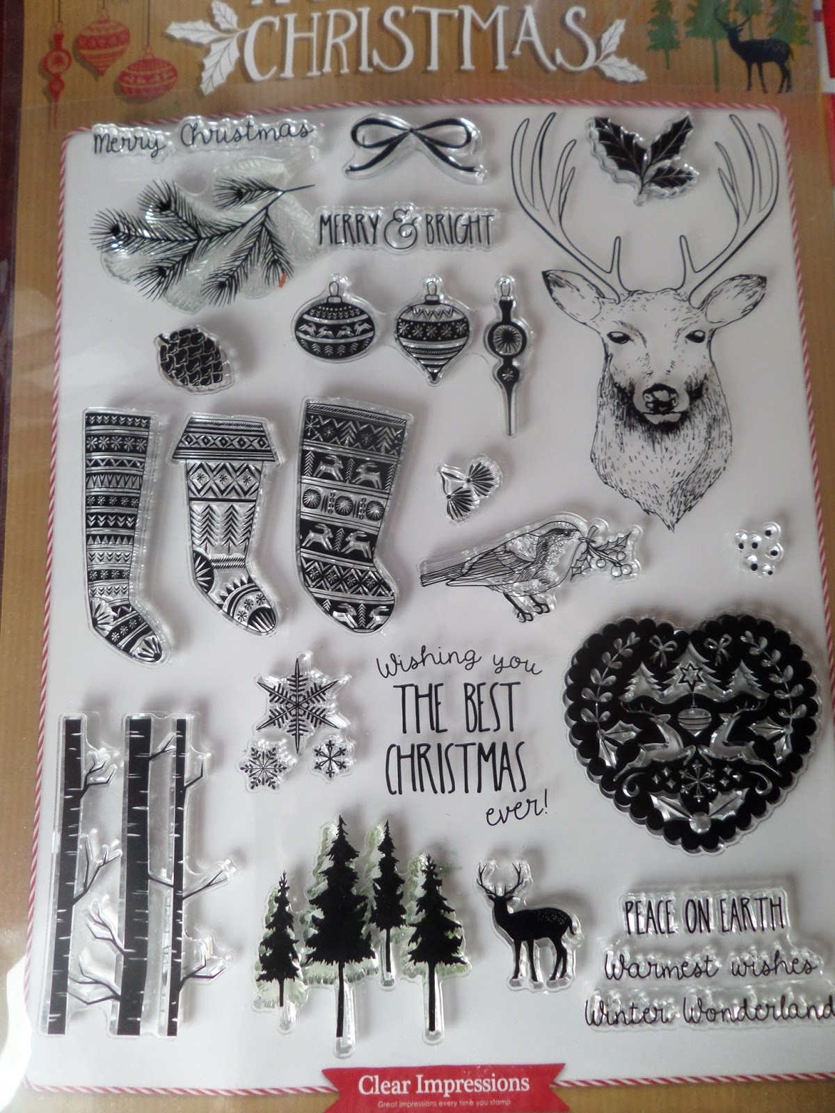 Alizabethy - Card Making Addict!: More Nordic Christmas Stamps .....