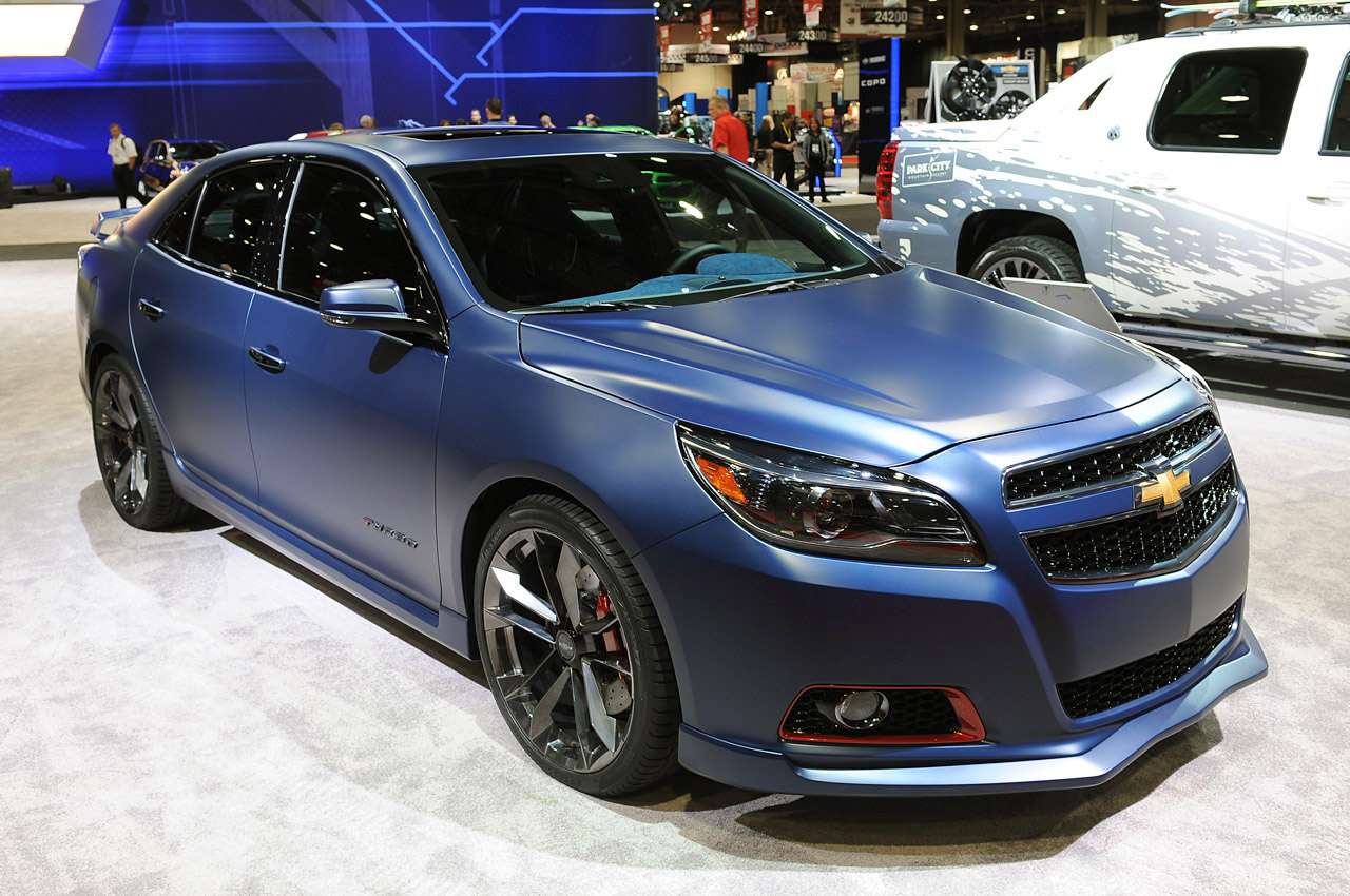 all cars nz 2012 chevrolet malibu turbo performance concept. Black Bedroom Furniture Sets. Home Design Ideas