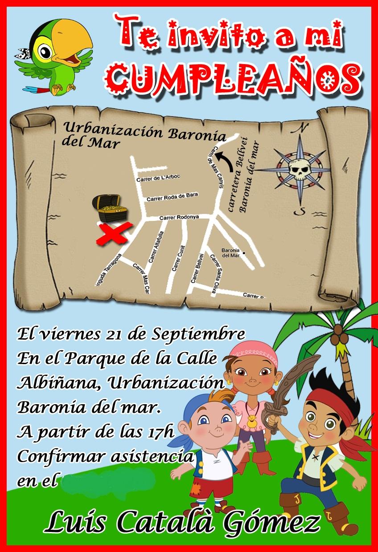 Secrets to Midnight: FIESTA DE CUMPLEAÑOS PIRATA!!!!
