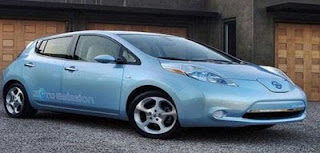 Nissan's electric car