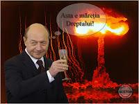 Funny photo Traian Băsescu Referendum invalid