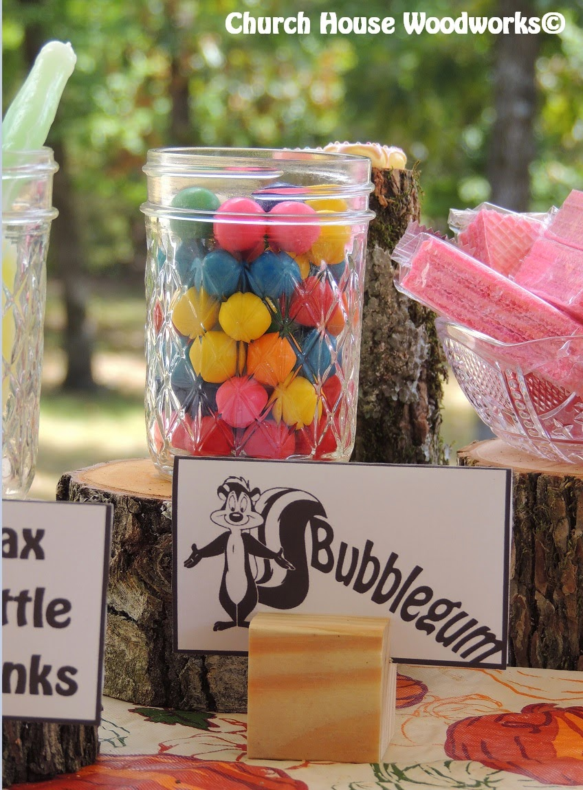 for you we also sell the the wood that the bubblegum jar and bowl of wafers is sitting on we have so many different wood items to choose from in our