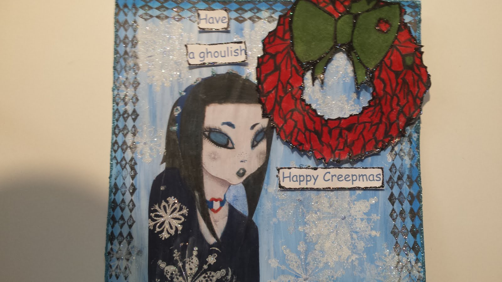 Day 6 of Smeared Inks 12 Days of Creepmas Blog Hop