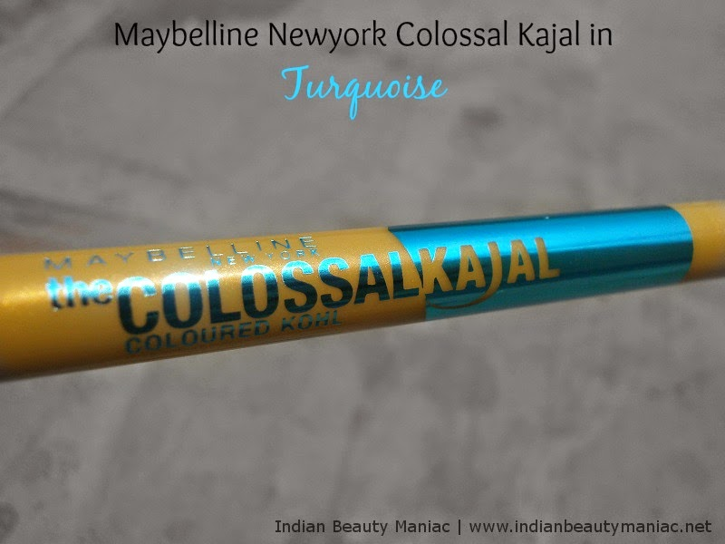 Maybelline Colossal Kohl in Turquoise