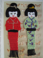 Kokeshi Bookmark