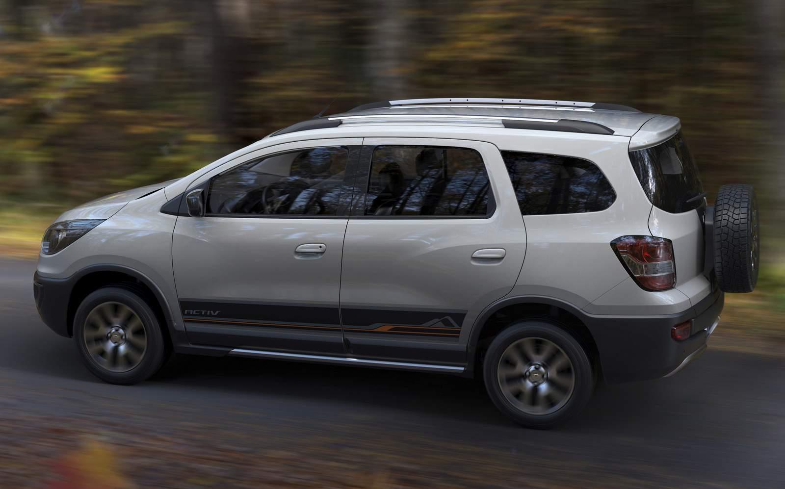 """Chevrolet Spin Activ - versão """"cross"""" tem preço R$ 62.060   CAR.BLOG"""