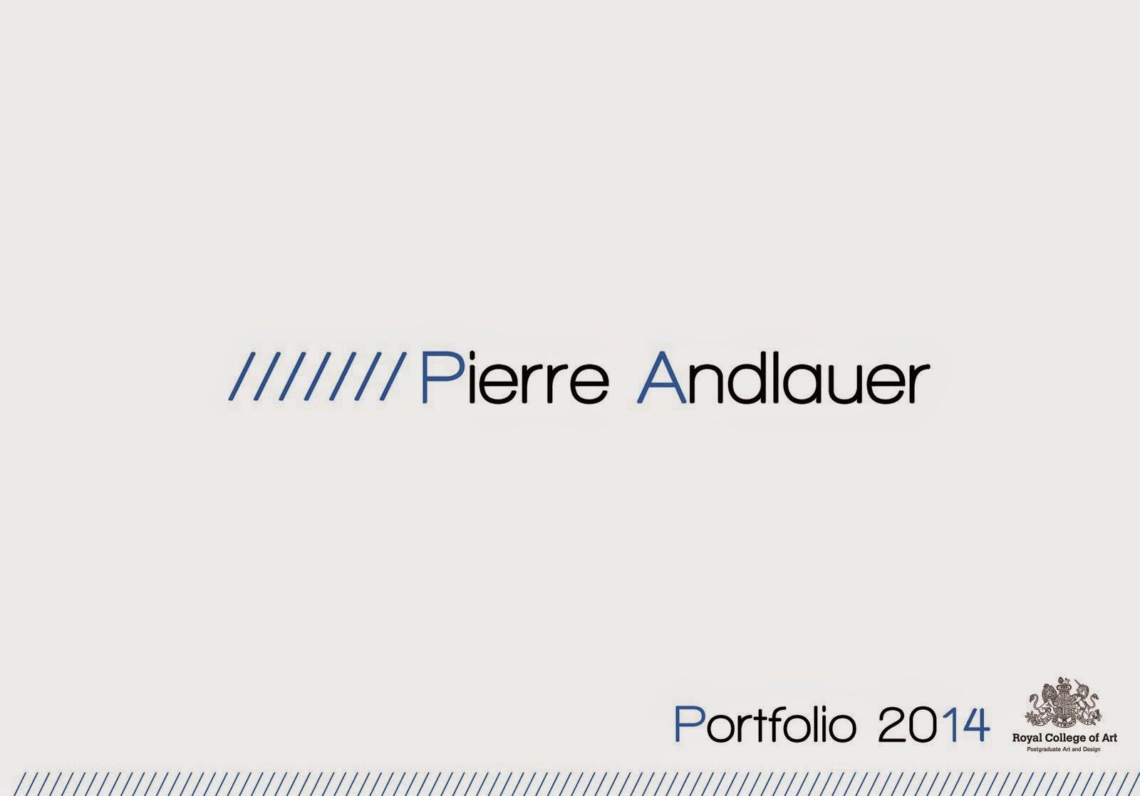 Portfolio 2014/2015