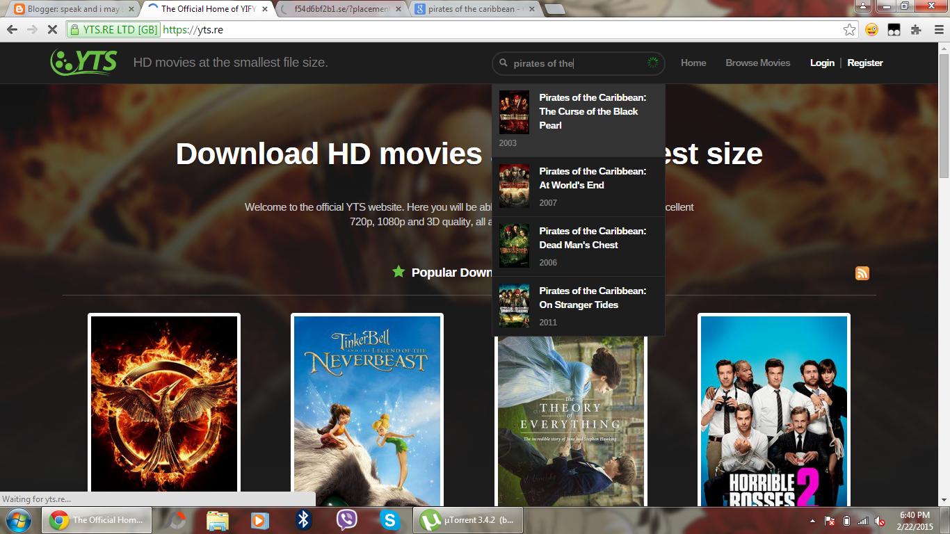 download free movies online torrent