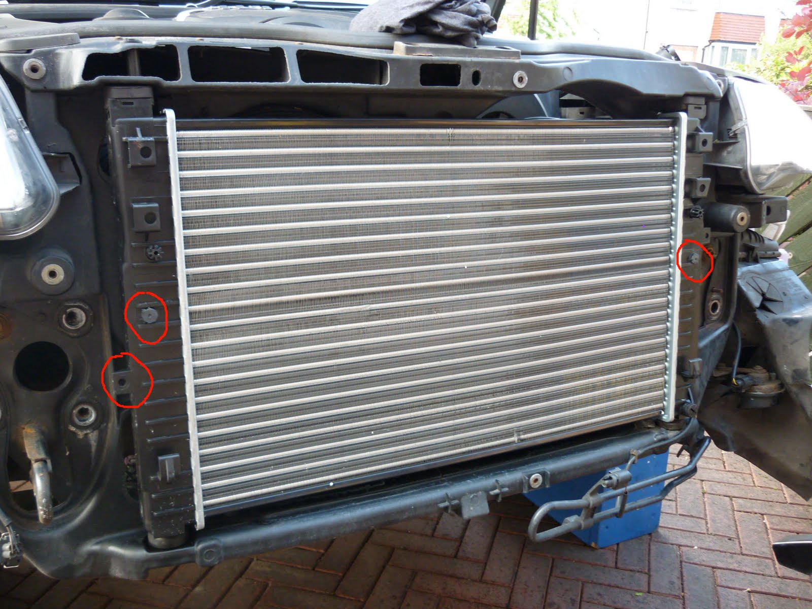 2003 vw pat radiator removal  2003  free engine image for