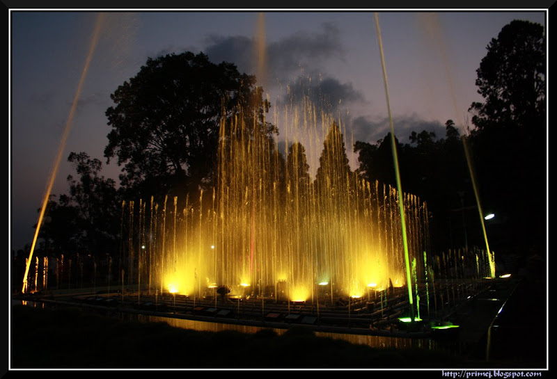 Musical Fountain, Madikeri
