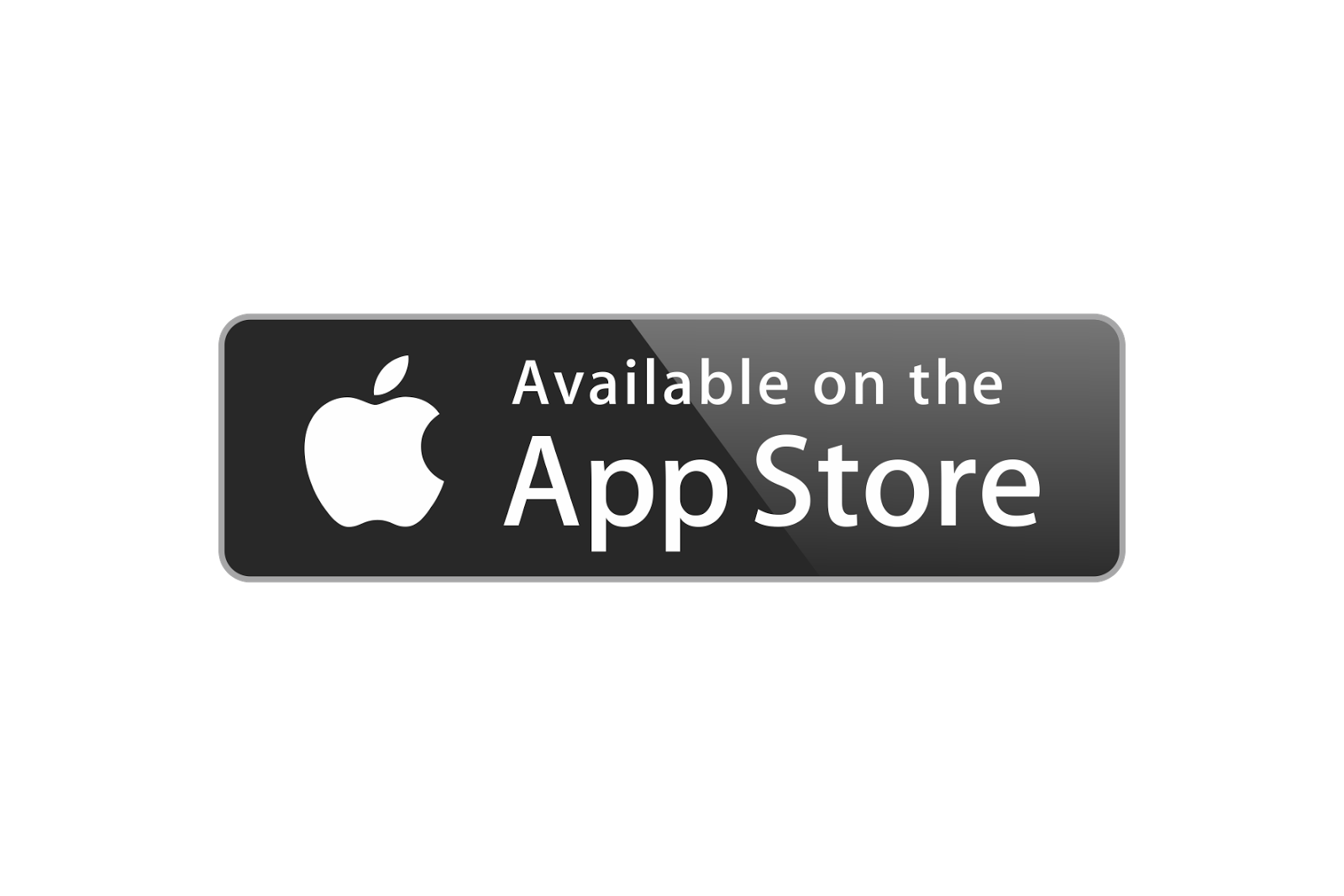available on the app store logo