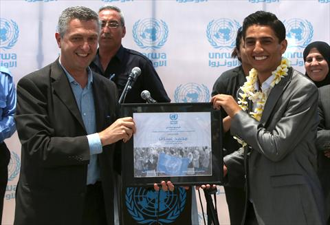 الأونروا: الفنان محمد عساف أول سفير للشباب في التاريخ