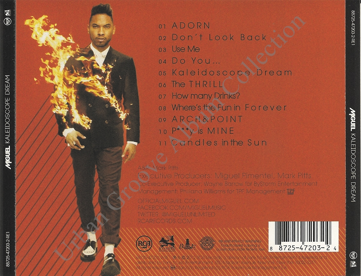 Miguel - Kaleidoscope Dream (Vinyl LP Album)