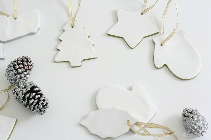 completed white clay ornaments_2 via Meet Me in Philadelphia