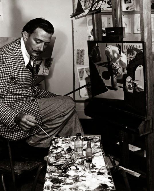 Dalí en acción