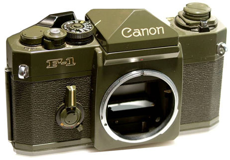 photography camera canon. Military camera - Canon OD F-1
