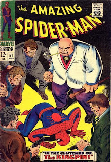 ASM #52 cover. 2nd Appearance of the King Pin