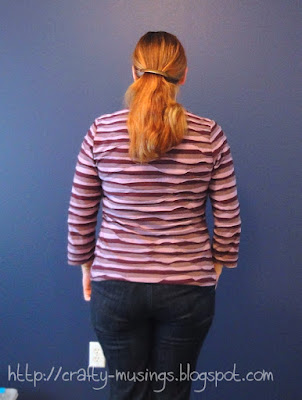 Striped Ann-T, back view