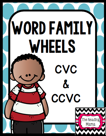 https://www.teacherspayteachers.com/Product/Word-Family-Wheels-Short-Vowels-1-1744959