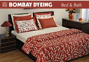 Jabong : Bombay Dyeing Bedsheets upto 40% off + 30% off on Rs.1599, 37% off on Rs.2499