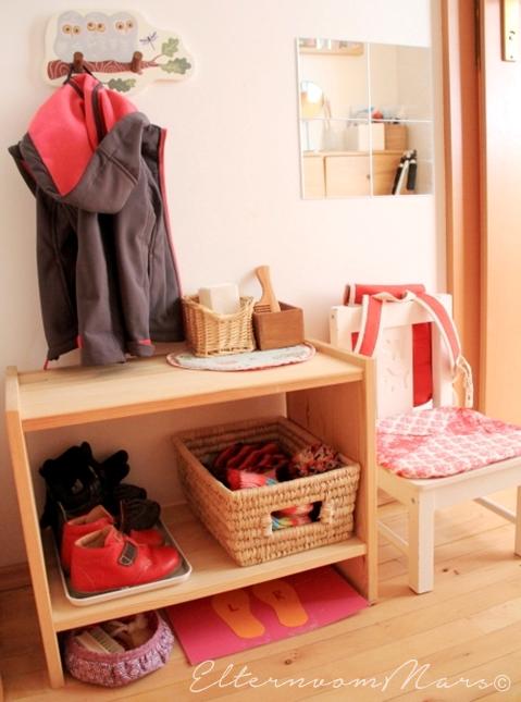 10 einfache garderobentipps nach montessori eltern vom for Montessori kinderzimmer