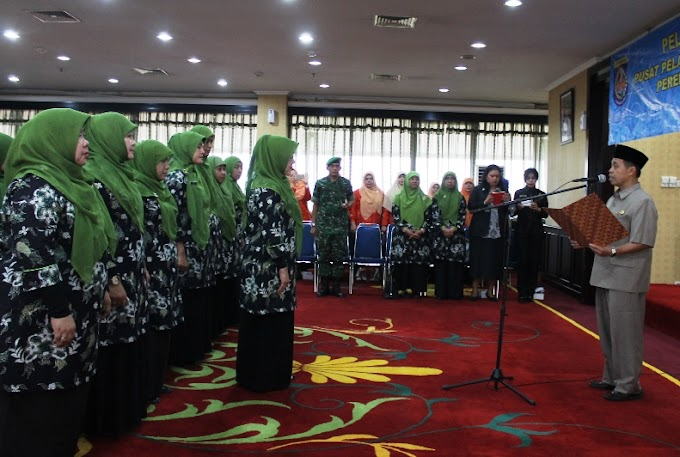 Walikota Lantik Pengurus P2TP2A Periode 2015-2018