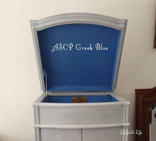 Lilyfield Life: ASCP Greek Blue Annie Sloan Chalk Paint