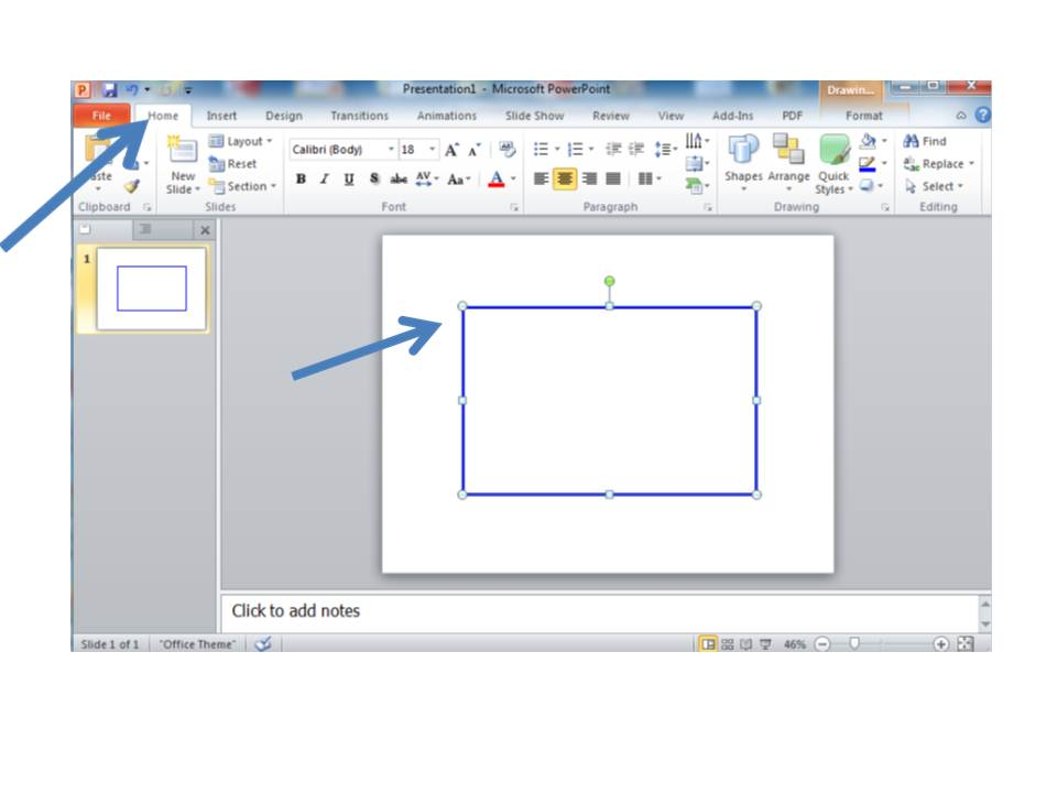how to use microsoft to do picture slide shows