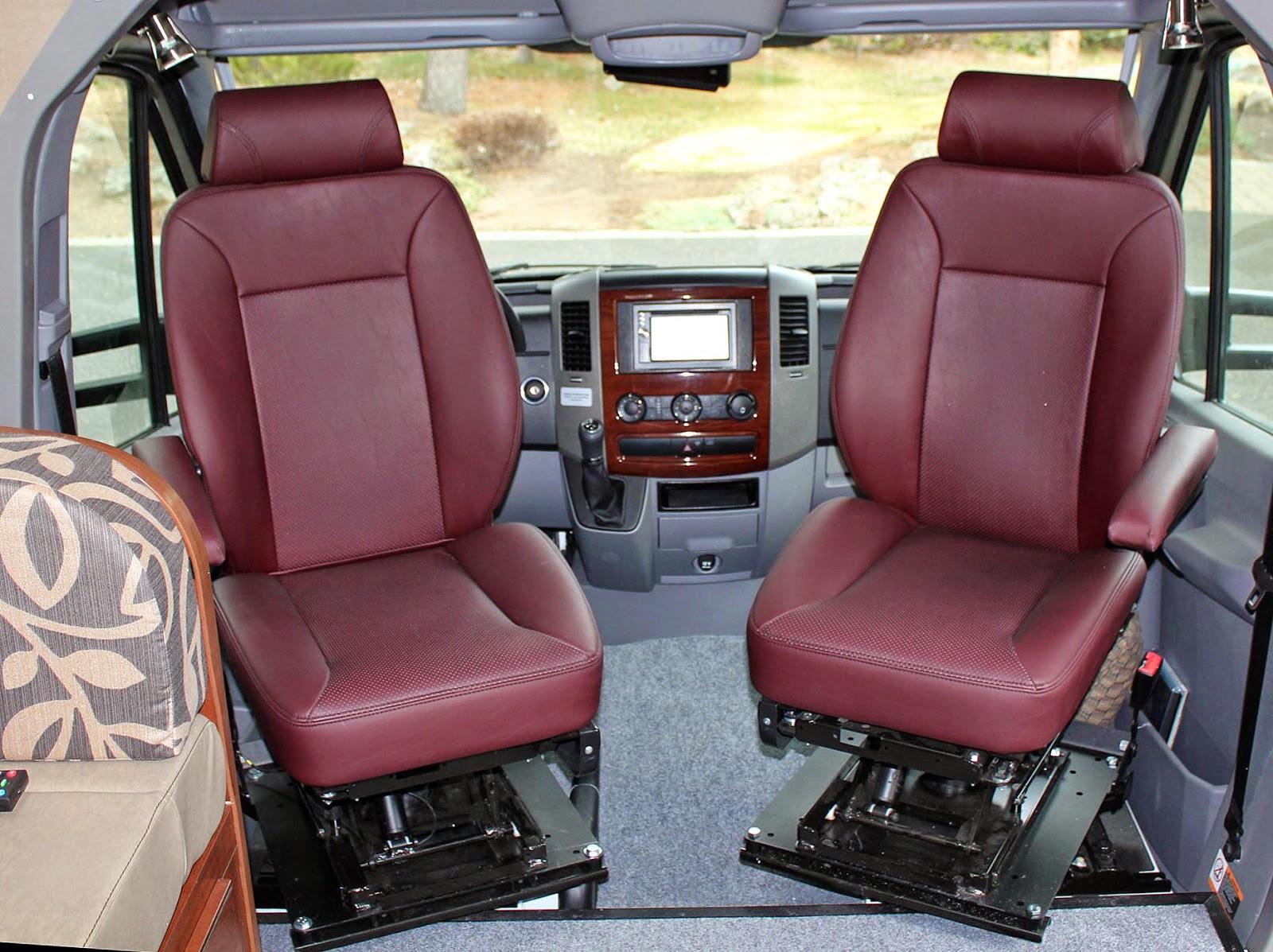 Sprinter Seat Upgrade